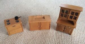 Miniature Doll Kitchen Set