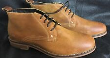 WOLVERINE MENS HENSEL PLAIN TOE CHUKKA BOOTS AMBER SUEDE SIZE 11M New W40121