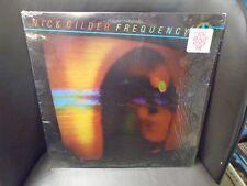 Nick Gilder Frequency LP Chrysalis 1979 EX in shrink w/ hype sticker