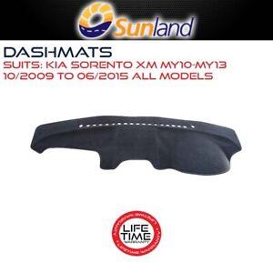 Sunland Dashmat Fits Kia Sorento XM MY10 MY13 10/2009-06/2015 For All Models