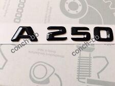 Mercedes A250 Badge Emblem Decals New Style Gloss Black