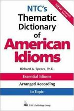 NTC's Thematic Dictionary of American Idioms-ExLibrary