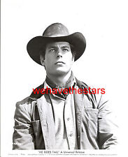 Vintage Tony Young QUITE HANDSOME COWBOY '63 HE RIDES TALL Publicity Portrait