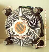 Intel Xeon X3400 Heatsink Fan for X3430 X3440 X3450 X3460 X3470 X3480 New