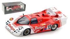 """Spark S5507 Porsche 936 C 'belga """"Le Mans 1983-Martin/Duez/Martin escala 1/43"""
