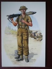 POSTCARD ROYAL NORTHUMBERLAND FUSILIERS - ITALY 1944 FUSILIER