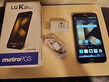 LG K20 plus MP260 - 32GB - Black (MetroPCS) NEW Smartphone