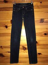 *AMERICAN EAGLE* Women's Juniors SKINNY SUPER STRETCH Jeans Size 00 Regular