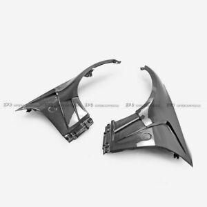 For Nissan 350Z Z33 EPA1 Style Carbon Fiber Front Fender Mudguards Body Kit Trim