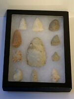 Arrowhead Collection; Large Blade; Native American Indian; Qty 11; Lot # 2
