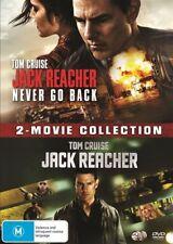Jack Reacher / Jack Reacher - Never Go Back (DVD, 2017, 2-Disc Set)