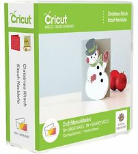 CRICUT ANNA GRIFFIN *CHRISTMAS KITSCH* CARTRIDGE *CARD GIFT TAG ORNAMENT...* NEW