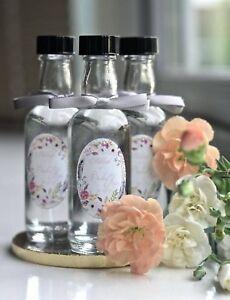 Mini Whisky Glass Bottles, 50ml, Packs 12 -130, Wedding Favours, Spirits, New *