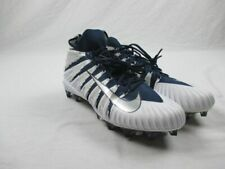 New Nike Alpha Menace Elite - White/Navy Cleats (Men's 14)