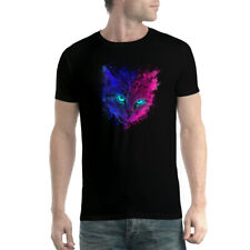 Cat Galaxy Cosmos Men's T-shirt XS-5XL
