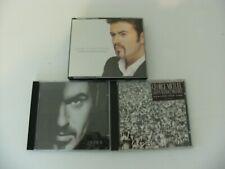 GEORGE MICHAEL 3XCD ALBUMS LADIES & GENTLEMEN/OLDER/LISTEN WITHOUT PREJUDICE