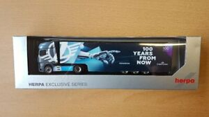 Herpa 941075 - 1/87 MB Actros `18 Gigaspace Trattore Case 100 Anni Lagermax