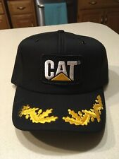 Vintage Caterpillar Cat Hat Made In The USA NOS