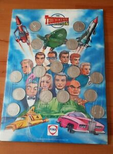 Vintage I993 Gerry Anderson Thunderbirds Fina Petrol Coin Collection