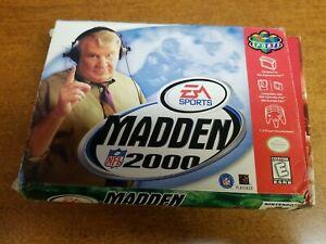 Madden NFL 2000 (Nintendo 64, 1999)