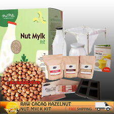 CACAO HAZELNUT NUT MILK KIT (INCLUDES BAG & NUTS)  +CACAO CHOC KIT~PERFECT GIFT!