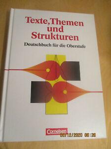 9783464410042 Texte, Themen und Strukturen Deutschbuch für die Oberstufe