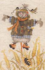 Cross Stitch Kit ~ Riolis Autumn Scarecrow Welcome #R1658