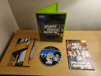 GRAND THEFT AUTO III 3 - XBOX GAME / + XBOX 360 - COMPLETE WITH MANUAL & MAP