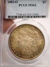 1883-O MORGAN ONE DOLLAR $1 COIN MS-62 PCGS GRADED # 3901