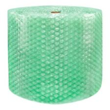 """1/2"""" SH Recycled Large Bubble Wrap Cushioning Padding Roll 500' x 24"""" Wide 500FT"""