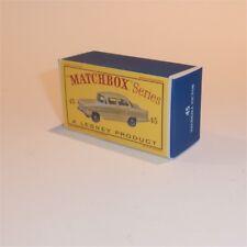 Matchbox Lesney 45 a Vauxhall Victor Sedan empty Repro D style Box