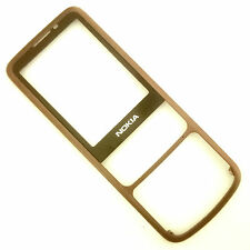 100% Genuine Nokia 6700c matt brown front fascia+screen lens anodized bronze