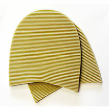 Men's Natural Soltrack Stick-on HEELS Shoe Repair Kit Size 83mm