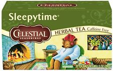 TEA SLEEPYTIME CAFFEINE FREE Celestial Seasonings (20 bags x 5 boxes) FAST Ship