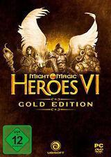 PC Computer Spiel ***** Might & Magic: Heroes 6 VI Gold Edition *********NEU*NEW