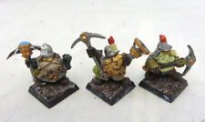 Warhammer Dwarfs Miners army lot oop metal