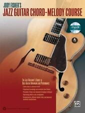 Jody Fisher's Jazz Guitar Chord Melody Course Tab Book Cd NEW!