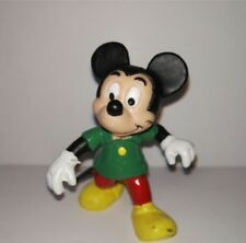 Figure of Mickey Mouse in PVC green T-shirt 1