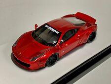 1/64 Ferrari 458  Liberty walk LB Performance Metallic Red