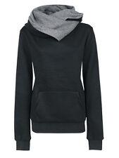 Damen Kapuzenpullover Pullover Sweatshirt Hoodie Sweater Pulli Jumper Top XS-XL