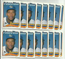 New listing (50) 1989 Topps #343 Gary Sheffield Rookie Rc Lot Factory Fresh & NM/MT+ 500 HR