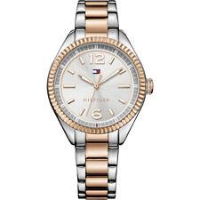 Tommy Hilfiger Para Mujer Reloj de oro rosa | Nueva 1781148 analógico de cuarzo RRP £ 130