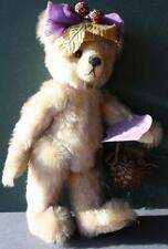 Annette Funicello Purple Tipped Fully Jointed Boysenbeary Patch Mohair Bear-Rare