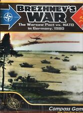 Compass Games: Brezhnev's War Warsaw Pact vs NATO New shrink-wrap