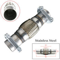 """45mm Stainless steel extra thick pipe 180 degree 1/' 1.75/"""" 30.5cm section"""