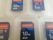 5PCS  Genuine SanDisk 1GB SD Memory card