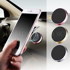 360° Universal Magnet Clip Halterung GPS Handy Auto Kfz Lüftungs Gitter Silber