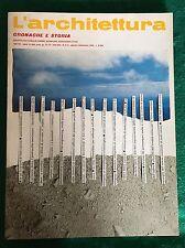 Rivista L'ARCHITETTURA Cronache e storia n. 394-395 agosto-settembre 1988