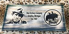 Fred Bear Archery Company Wood Wooden Signs Plaque - 16� X 7 1/4�
