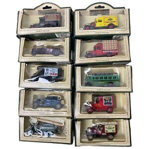 Days Gone Die Cast Car Models X 10 Cars Vintage Die Cast Classic Models NIB